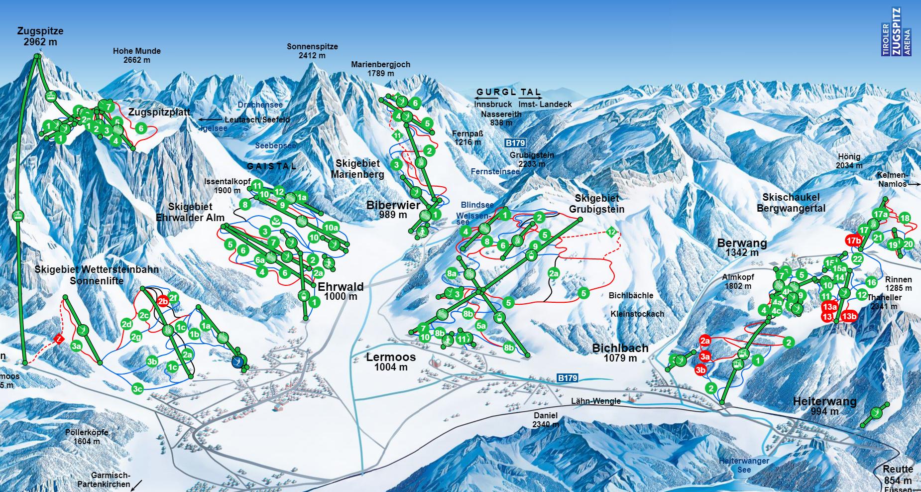 Austria Attew Painting Landscape art kunst ski skifahren skilaufen snowboard mountain berg alp Snow schnee vinter