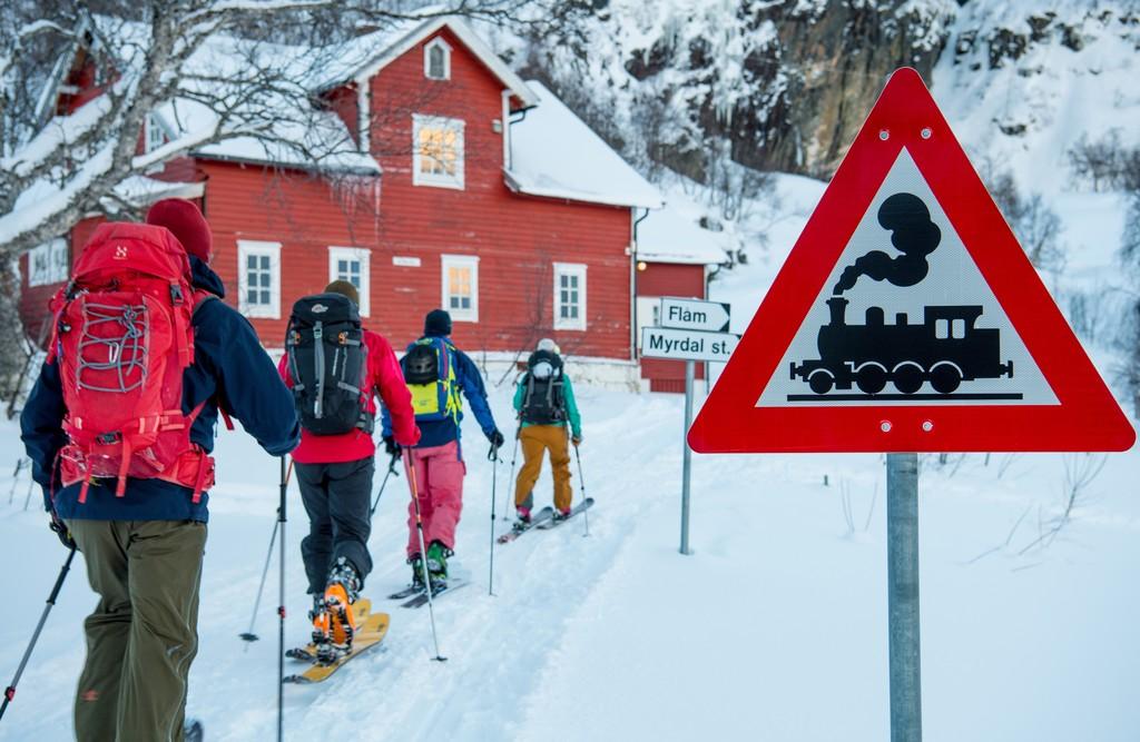 Myrkdalen voss Freeride the Fjord Norway ski skitouring winter Scandinavia Adam Attew