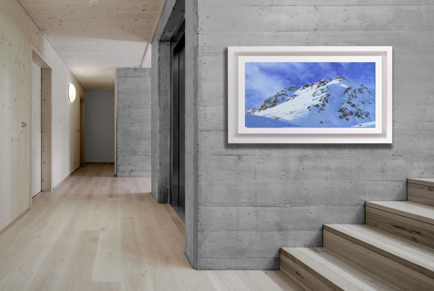 Switzerland St.Moritz Diavolezza Attew Painting Landscape artist art ski snowboard mountain winter Snow Alpine Alps Montagne Alpes