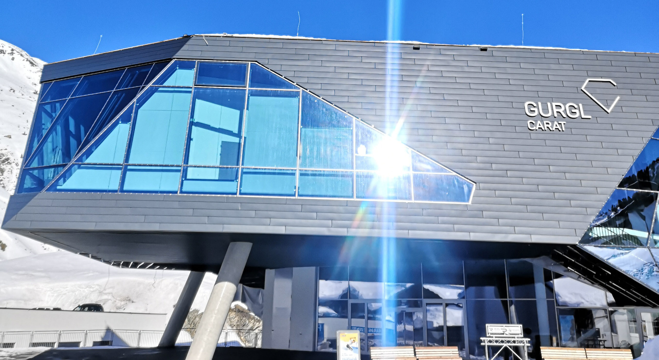 Gurgl Carat Centre Exterior